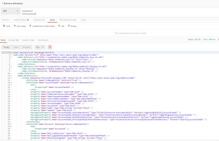 Dynamics 365 Web API and Azure Functions v2 CRUD Operations