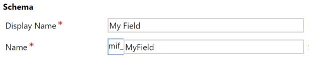 myfieldinformation